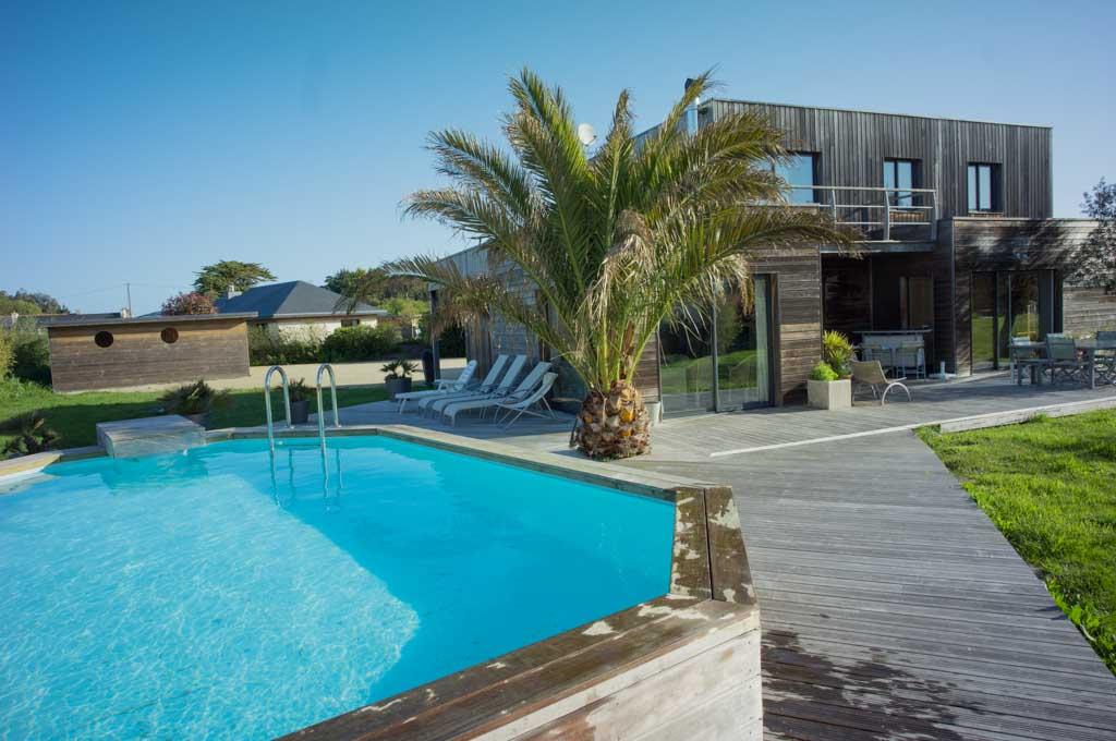 La bernique villa de bord de mer - Maison moderne bord de mer ...